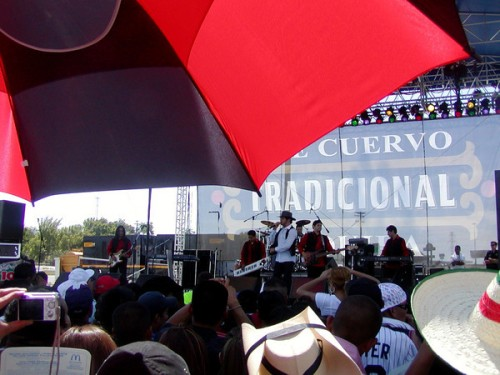 La Mafia at Texas Stadium, Fiestas Patrias 2008